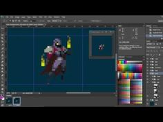 Duelyst - Pixel Art character animation demo - YouTube