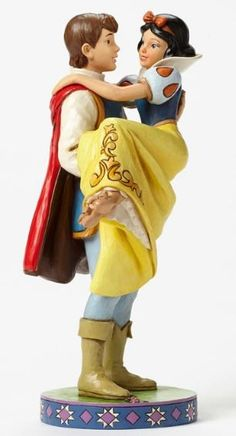 "Released 2015. ""Happily Ever After"" - Prince Holding Snow White Figurine. 4049623"