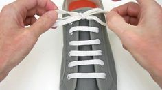 How to Straight Easy Lace your shoes - Professor Shoelace
