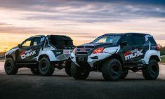 Isuzu revealed the concept x isuzu team d-max-tuned monster trucks based on top of the isuzu d-max truck and the isuzu mu-x suv. Show Trucks, Lifted Trucks, Pickup Trucks, Isuzu D Max, X Picture, Top Luxury Cars, Jeep 4x4, Toyota Hilux, Four Wheel Drive