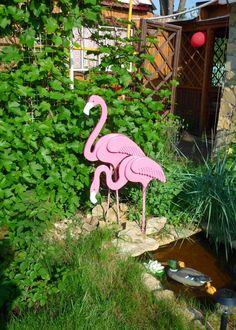 Вот такая дача!!!!!! Wood Shop Projects, Wooden Projects, Wooden Crafts, Diy Craft Projects, Styrofoam Art, Flamingo Craft, Palette Deco, Wood Animal, Wood Bird