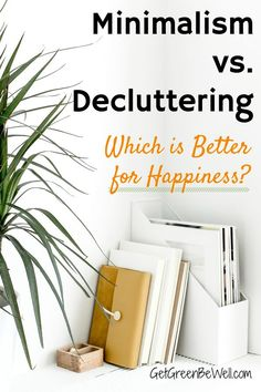 Is minimalism the answer for happiness? Or do you just need to organize and declutter your house to feel better? Here's how to know if you need to think about downsizing to be happy, or if organizing can bring you joy and peace. Natural Living, Simple Living, Organizing Your Home, Organising, Organizing Ideas, Green Living Tips, Declutter Your Life, Minimalist Living, Minimalist Lifestyle