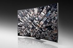 Samsung Electronics unveiled today its first commercial Samsung curved UHD TV and announced its rich collection of curved and UHD TV for the Gadgets And Gizmos, Electronics Gadgets, Samsung Uhd, Life Size Games, Curved Tvs, Television Tv, Mobile Price, Tv Reviews, Immersive Experience