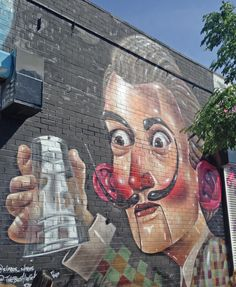 By Sipros  @sipros_sipros    Street art work in Brooklyn, New York City. Graffiti is widespread - with many murals, wheatpastes and stencils.
