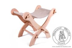 A folding chair type 2. Medieval Market, folding chair