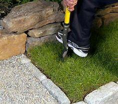 Carolyn 39 s garden party on pinterest qvc solar and hearth for Spear head gardening shovel spade
