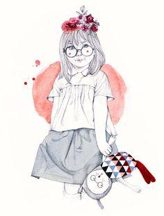 shu84: Elodie Illustrations