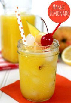 fresh+mango+lemonade