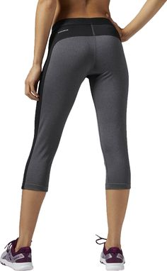 Asics Black Colorblock Tights Activewear Bottoms Size 2 (XS, 26) 41% off retail