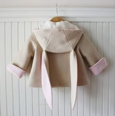 Our new Luxe Bunny Coat has all the details and charm of our original Honey Bunny coat, but is made from amazing 100% Wool European felt and lined