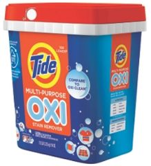 If you haven't used your B1G1 Tide Oxi coupons yet, this deal is going to knock your socks off! Starting the week of 7/13, Target will have Tide Oxi Tubs 7.12 lb on sale for $10 each with a $10  ...