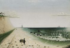 """""""Meditation by the Sea"""",  the Museum of Fine Arts in Boston."""