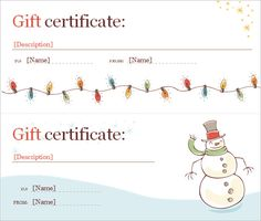 Christmas Certificates Templates For Word The Advantages Of Offering Photography Gift Certificate Template .
