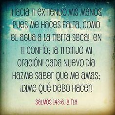 Salmos 143.6,8