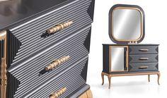 Replacement Furniture Legs, Bedroom Furniture, Furniture Design, Bedroom Bed Design, Bedroom Ideas, Bedside Table Design, Woodworking Furniture, Luxurious Bedrooms, Nightstand