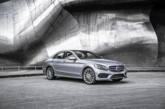 The 2015 C-Class sedan restores the balance in the Benz universe with a car that is a real Mercedes: overengineered, overbuilt and somewhat overpriced. Mercedes Benz C300, New Mercedes, Benz C Class 2015, Mercedes Electric, New C Class, 2015 Wallpaper, Wallpapers, Led Logo, Small Cars