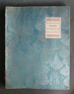Au Royaume de la perle de Rosenthal  Illustrations de Dulac 1920 Piazza  1/250