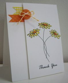 Stamping with Loll: Trio of Daisies - paper piecing (June 2012)