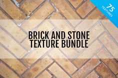 Check out Brick and Stone Textures Bundle by Medialoot on Creative Market