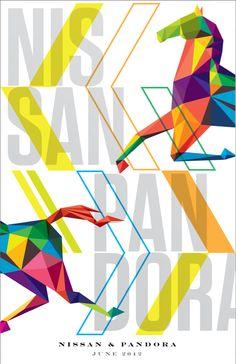 ♥ Pandora Posters by Jeff Ho