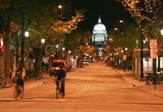 State Street at 1am. #UWRightNow