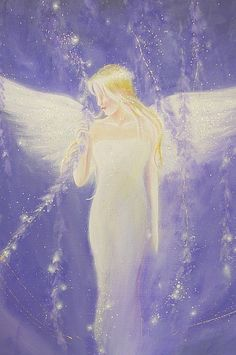 "Limited angel art photo ""from a dream"" , modern angel painting, artwork, perfect for frame"