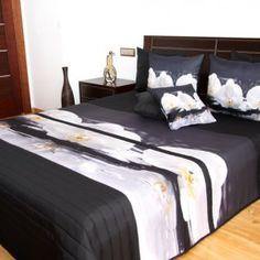 Přehozy s barevným potiskem Bed, Furniture, Design, Home Decor, Decoration Home, Stream Bed, Room Decor, Home Furnishings