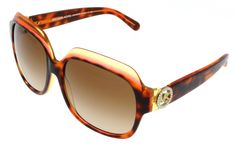 Michael Kors Tortoise/Pink Square Sunglasses