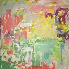 """""""Cotton Candy Clouds,"""" by Michelle Armas, 48"""" by 48"""" on gallery wrap, $1800    Gregg Irby Fine Art Gallery"""