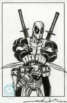 #Deadpool #Fan #Art. (Deadpool) By: Walter Simonson. (THE * 5 * STÅR * ÅWARD * OF: * AW YEAH, IT'S MAJOR ÅWESOMENESS!!!™)[THANK Ü 4 PINNING!!!<·><]<©>ÅÅÅ+(OB4E)    https://s-media-cache-ak0.pinimg.com/474x/e8/6c/a8/e86ca8d17f7ccacabaf592d3fa2d11b4.jpg