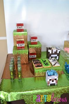 Minecraft Birthday Party Birthday Party Ideas | Photo 2 of 31 | Catch My Party
