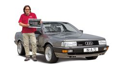 Audi 200, Frontansicht