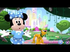 Mickey Mouse Clubhouse Minnie Explores The Land of Dizz Full Game Episodes