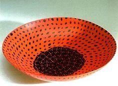 Murrine glass bowl,1940.  Carlo Scarpa for Venini
