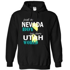 Just a Nevada boy in an Utah World #tee #fashion