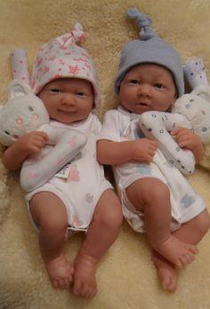 BERENGUER LA NEWBORN ANATOMICALLY CORRECT REBORN / PLAY TWIN BOY & GIRL DOLLS