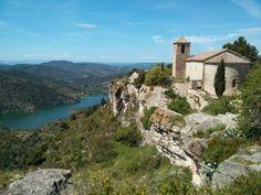 Church in Siurana (Spain)