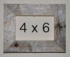 4 x 6 Driftwood Picture Frame 114 by DriftwoodMemories on Etsy, $16.95