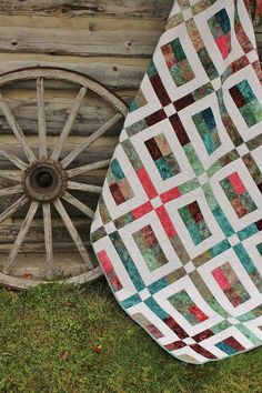 City Slicker Quilt Pattern made with Jelly Roll strips