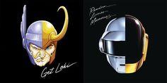 25 Paródias de capas de discos e CDs famosos feitas com personagens da cultura Pop