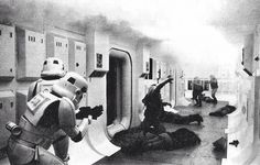 Storm troopers boarding Tantive IV 01