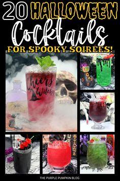 Halloween Season, Halloween Ideas, Halloween Party, Halloween Cocktails, Easy Cocktails, Tequila, Vodka, Purple Pumpkin, Rum