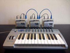 Crudman: new musical instrument based on a hacked Walkman