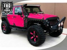 Stunning 72 Jeep Wrangler Photos Customized and Modified Jeep Rubicon, Jeep Jk, 2015 Jeep Wrangler, Wrangler Unlimited Sport, Auto Jeep, Jeep Truck, Ford Trucks, Pink Jeep, Badass Jeep