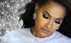 Smokey Grey Makeup Tutorial