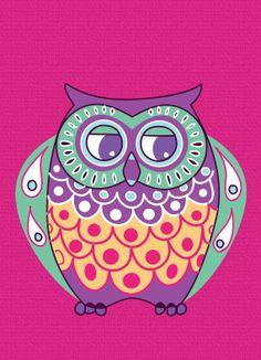 'Bright Owl' by Michelle Pocock