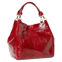 The Union in red from Big Buddha.  Love my Big  purses! On my wish list to fulfill my purse addiction.