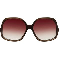 Oliver Peoples Talya 61 Oversized Square Frame ($149) ❤ liked on Polyvore featuring accessories, eyewear, sunglasses, glasses, oliver peoples, square frame sunglasses, lens glasses, tinted glasses and oliver peoples glasses