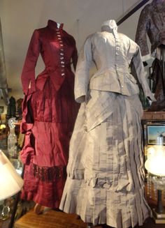 1880 Bustle Dresses