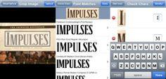 WhatTheFont Entwickler: MyFonts Inc. Kostenlose iPhone App zur Identifizierung von Fonts mit Hilfe von Fotos/Screenshots (www.t3n.de)